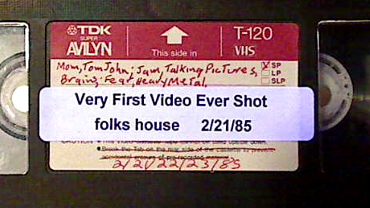 1985-02-21 - First Video Ever Shot