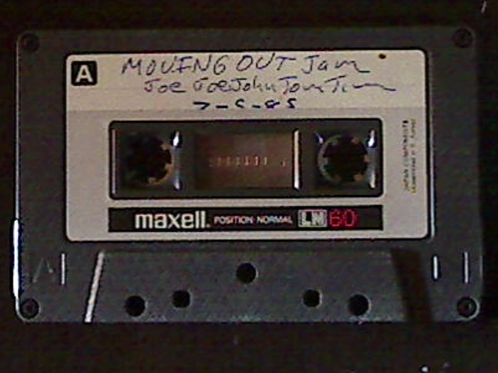 1985-07-05 - Moving Out Jam Me A
