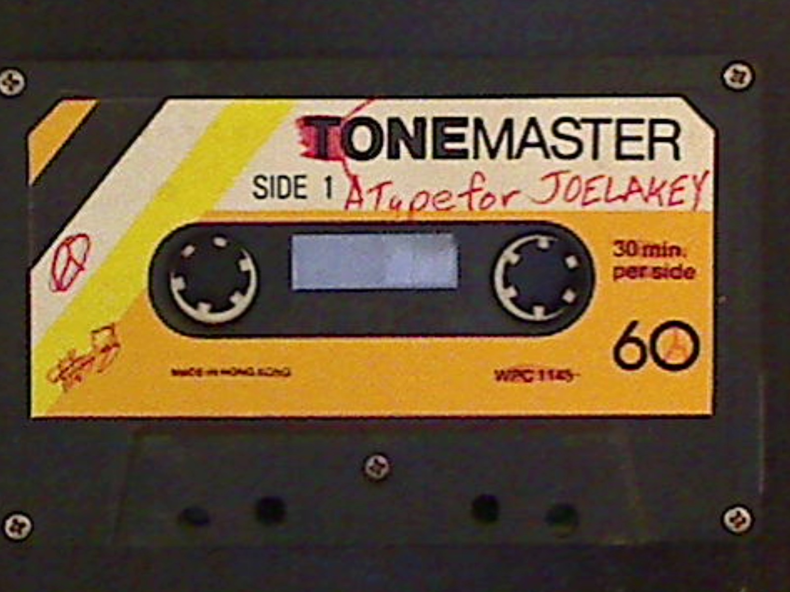 A Tape For Joe Lakey A