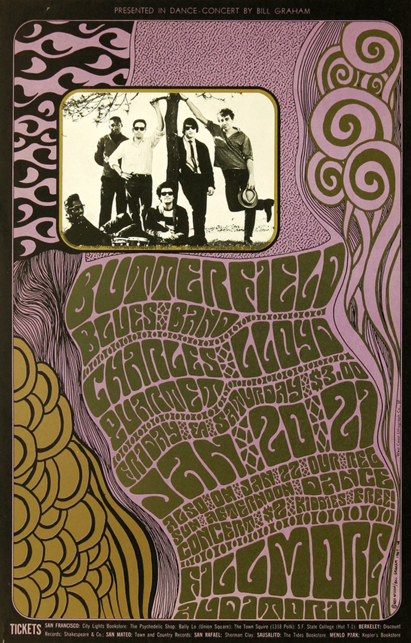 Butterfield Blues Band 1967