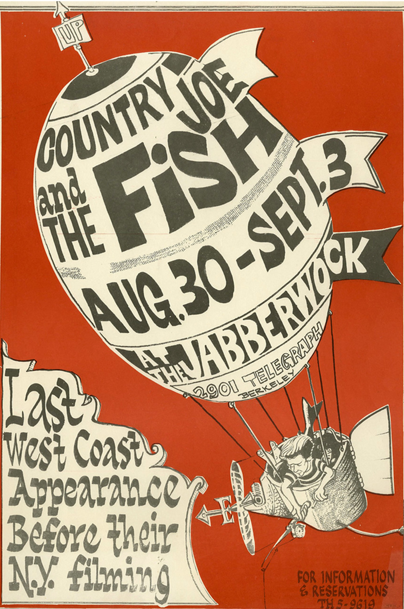 Country Joe and the Fish Jabberwock 1966