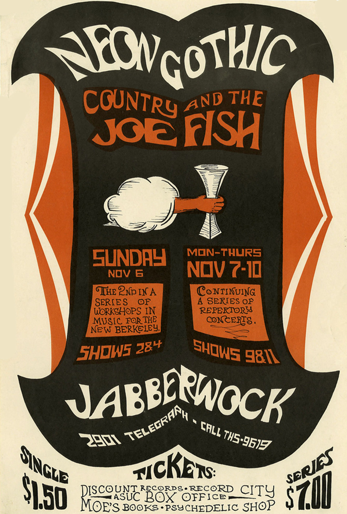 Country Joe and the Fish Jabberwock November 1966