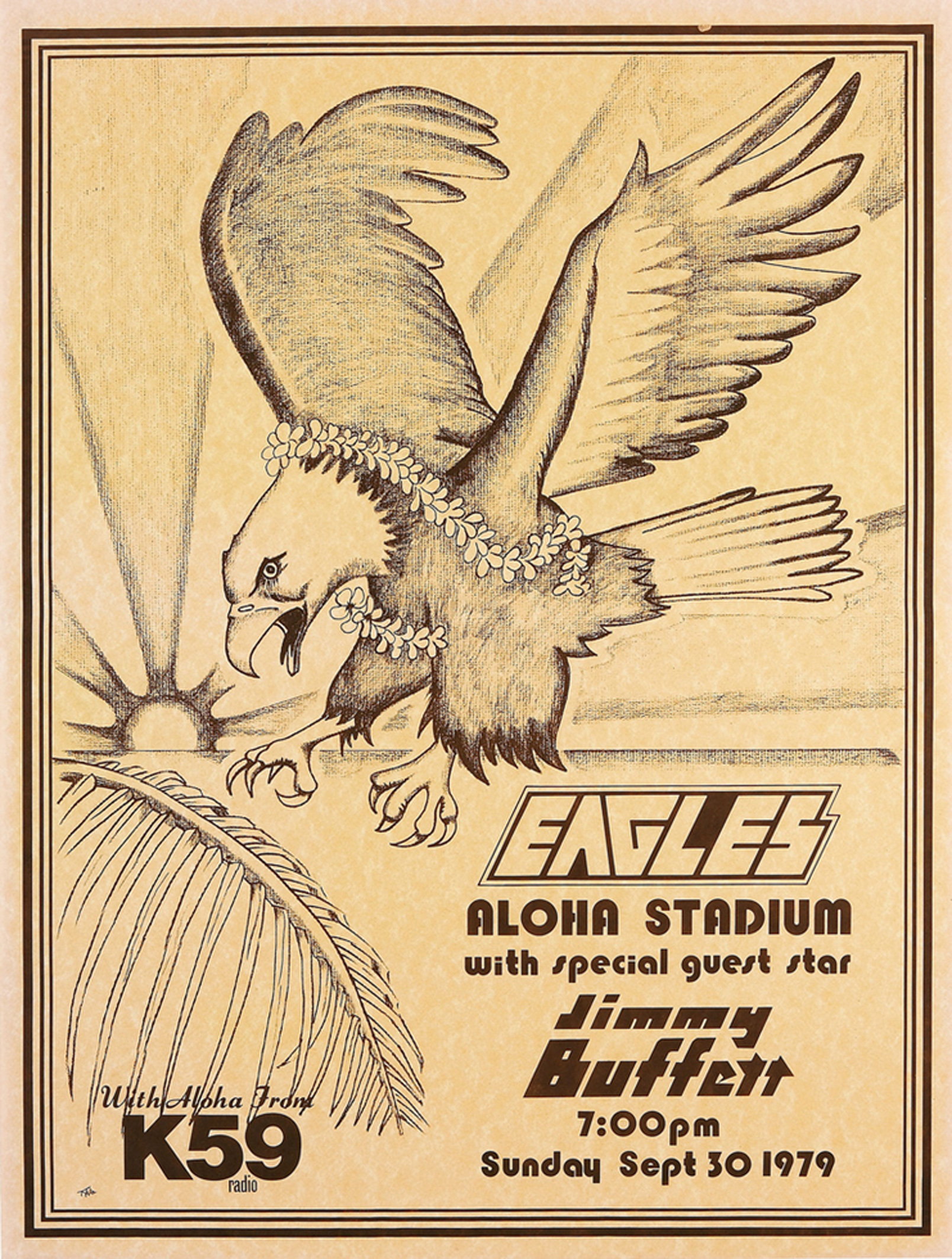 Eagles and Jimmy Buffet Aloha Stadium Concert 1979