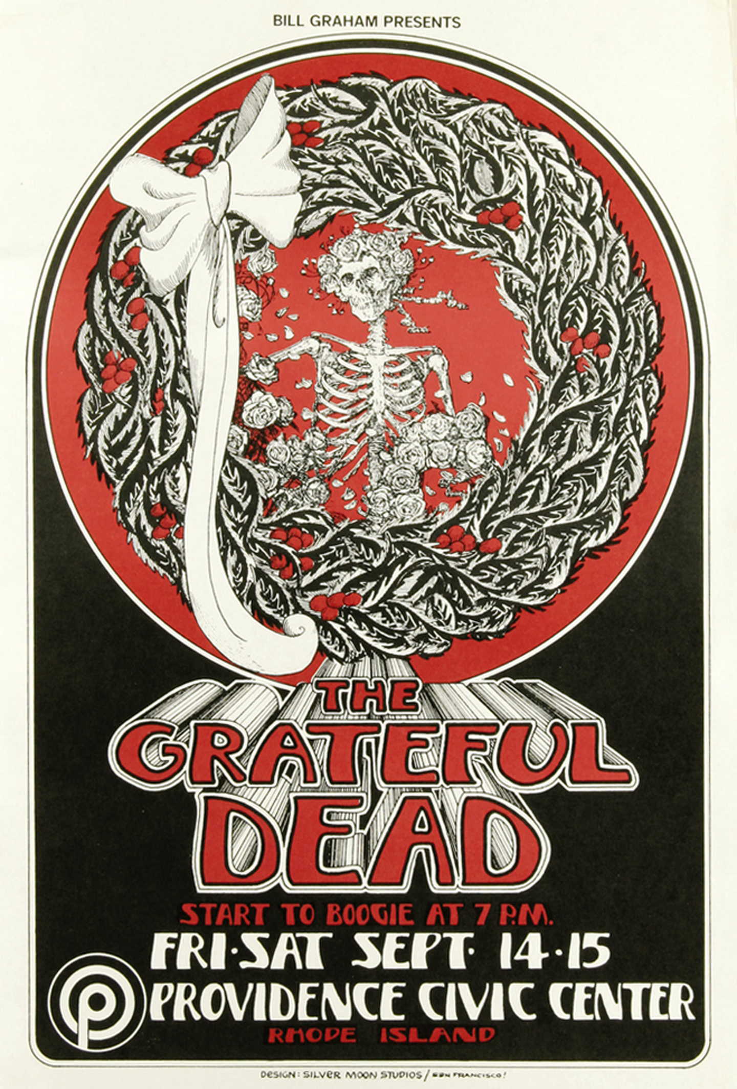 Grateful Dead Providence Civic Center Concert 1973