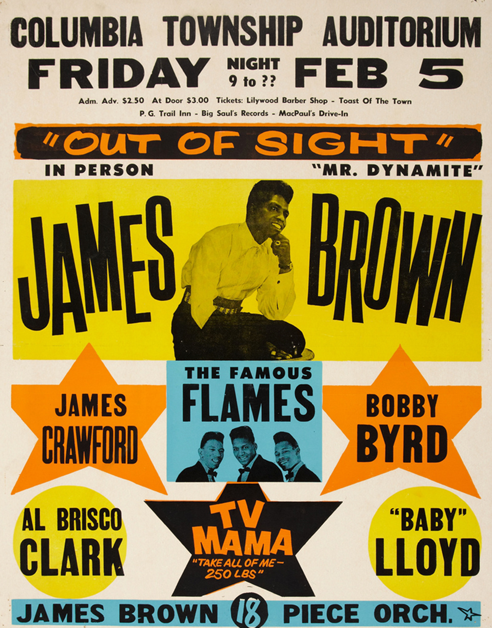James Brown 1964