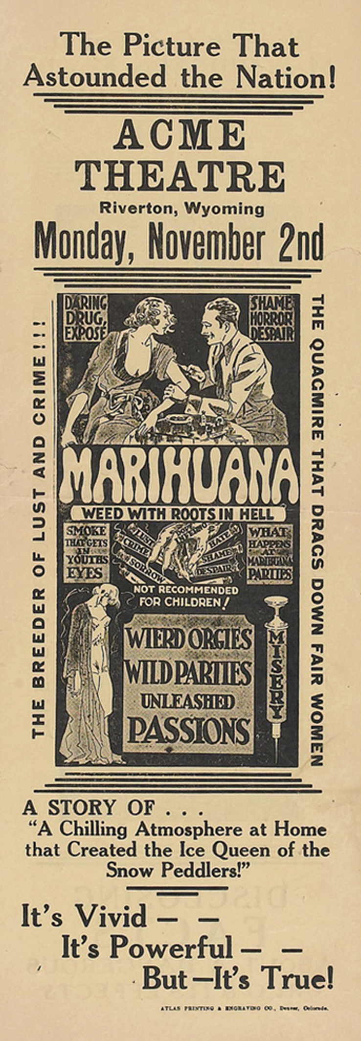 Marihuana (Roadshow Attractions, 1936) III