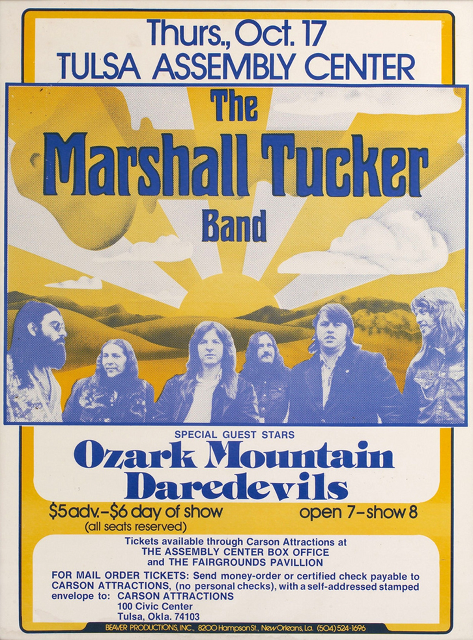 Marshall Tucker Band 1974