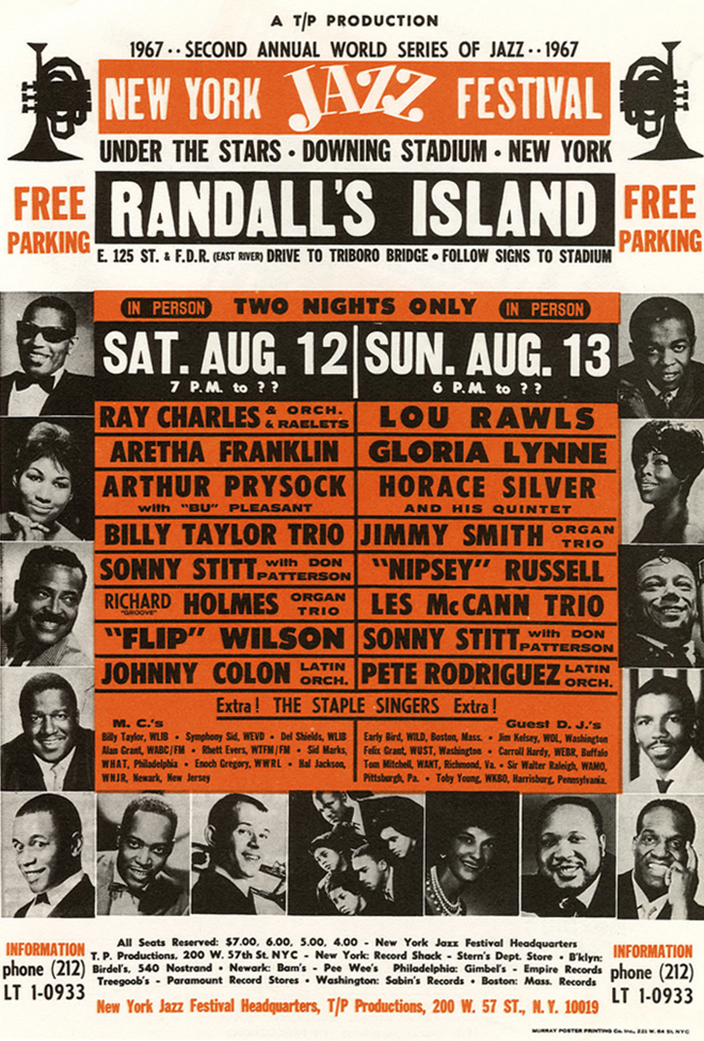 New York Jazz Festival Handbill 1967