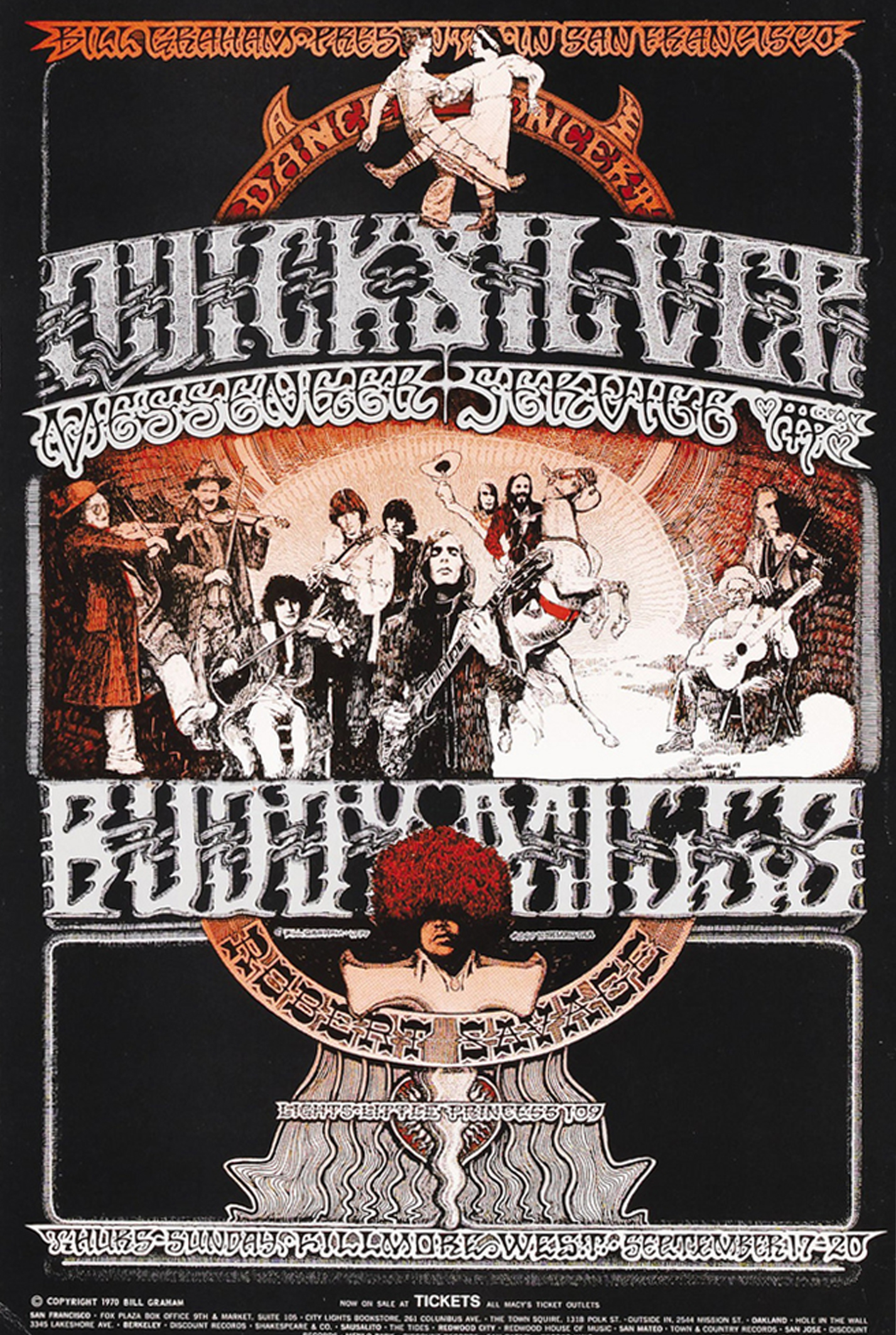 Quicksilver Fillmore West Concert 1970