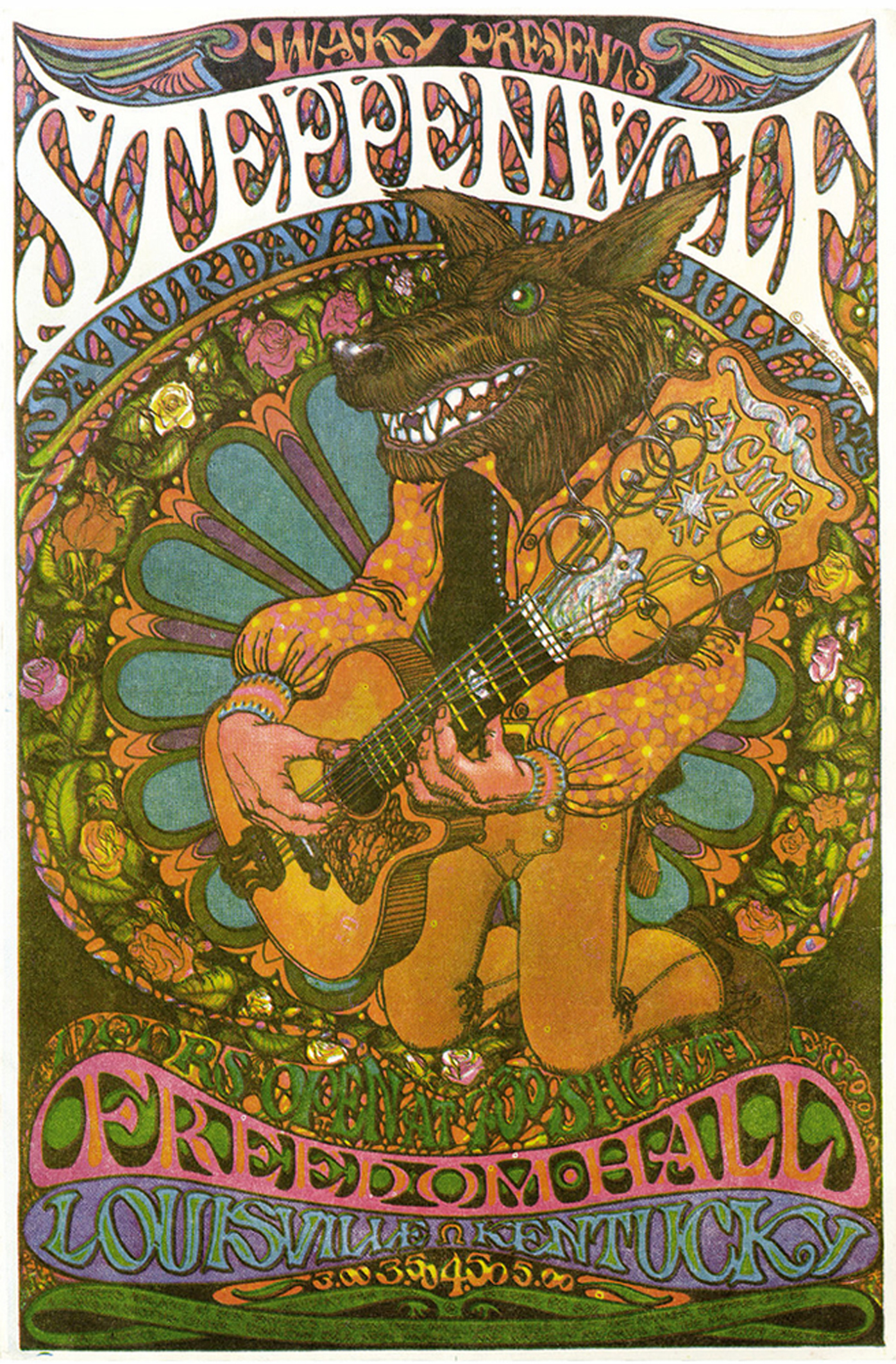 Steppenwolf Freedom Hall Concert 1969