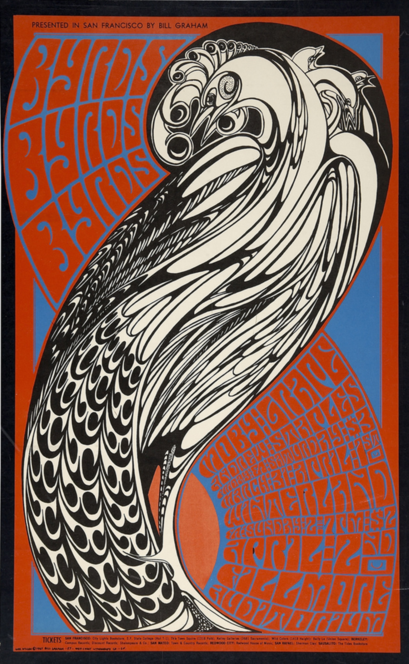 The Byrds, Moby Grape Winterland Concert 1967