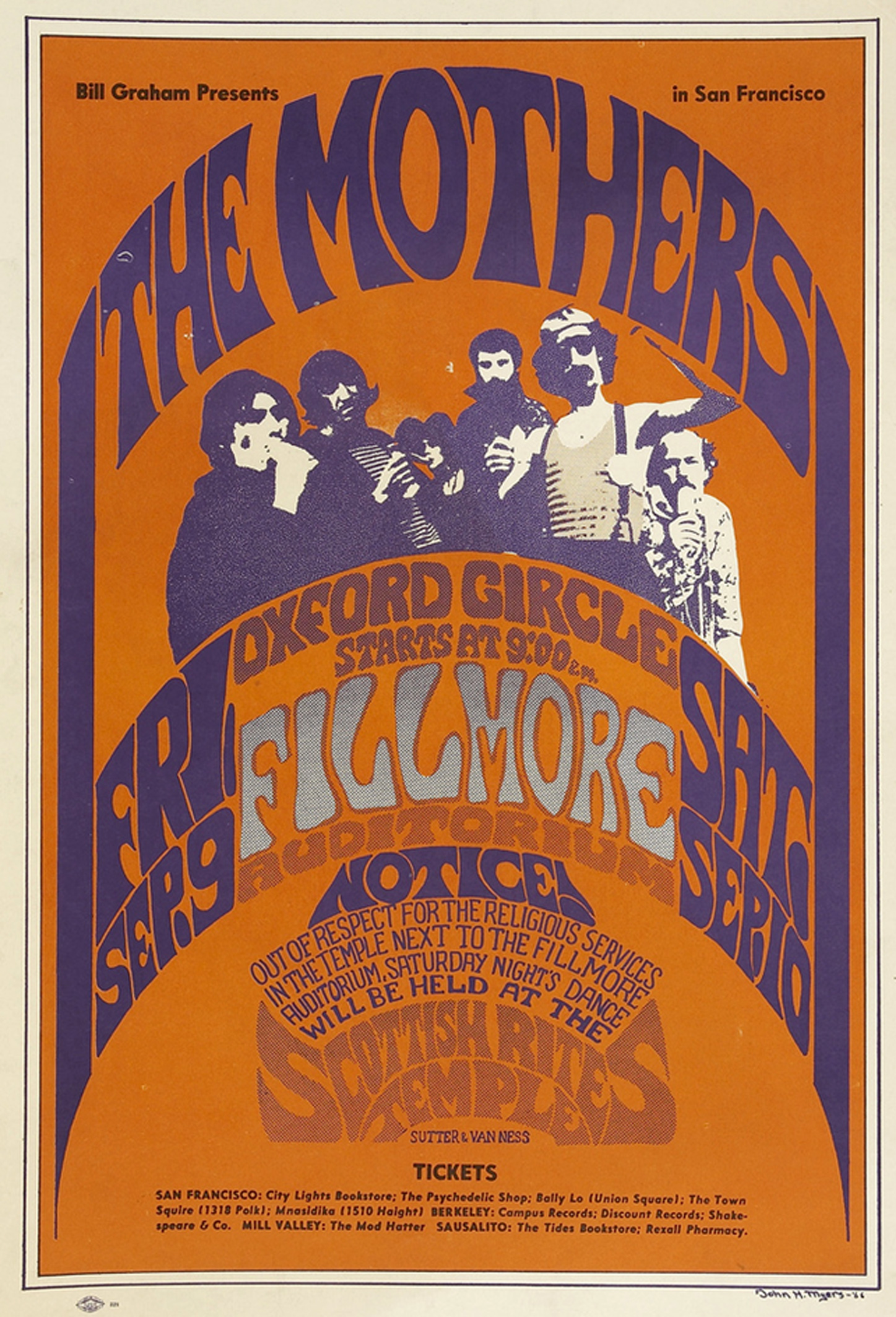 The Mothers of Invention 1966