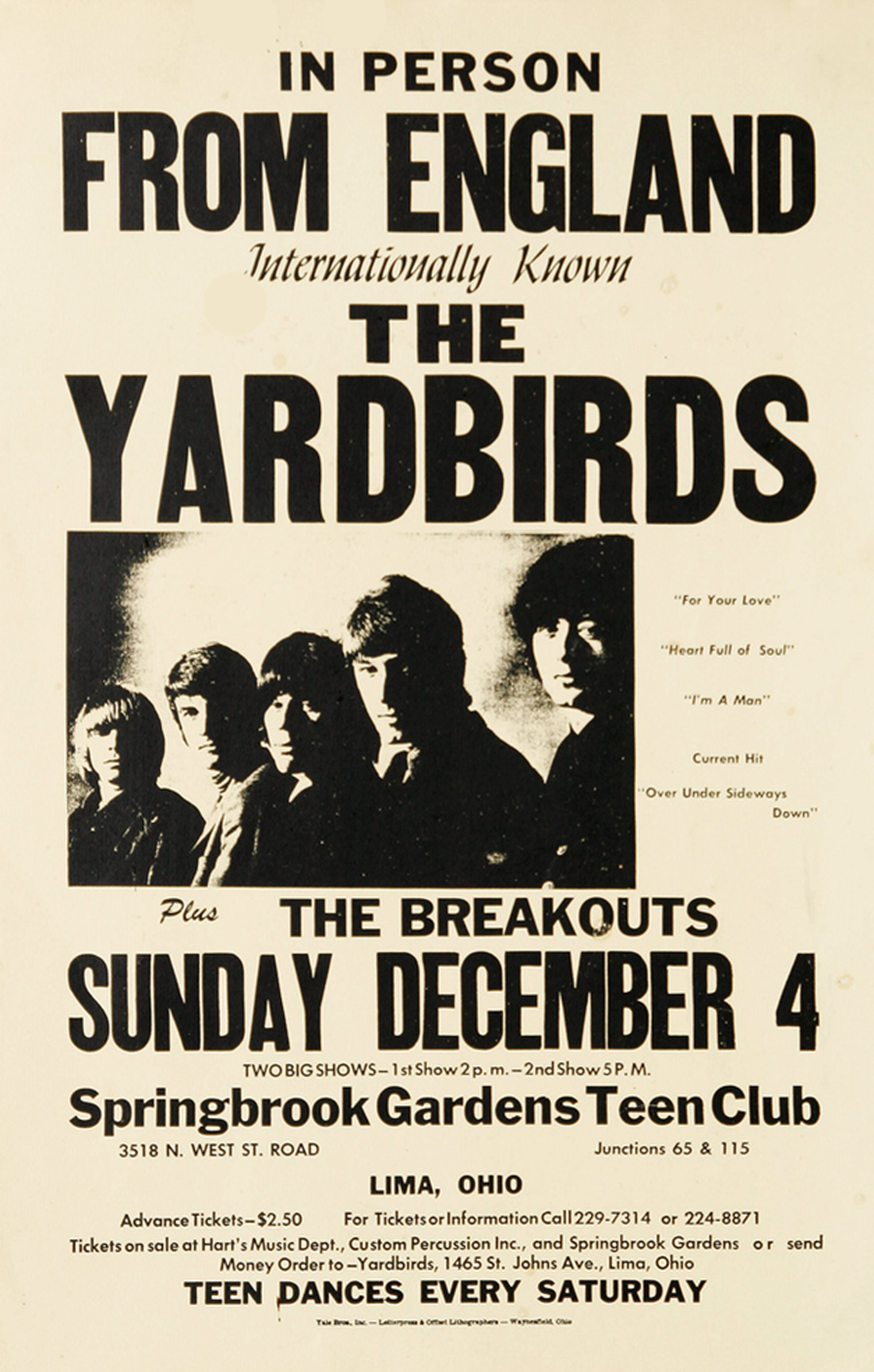 The Yardbirds 1966