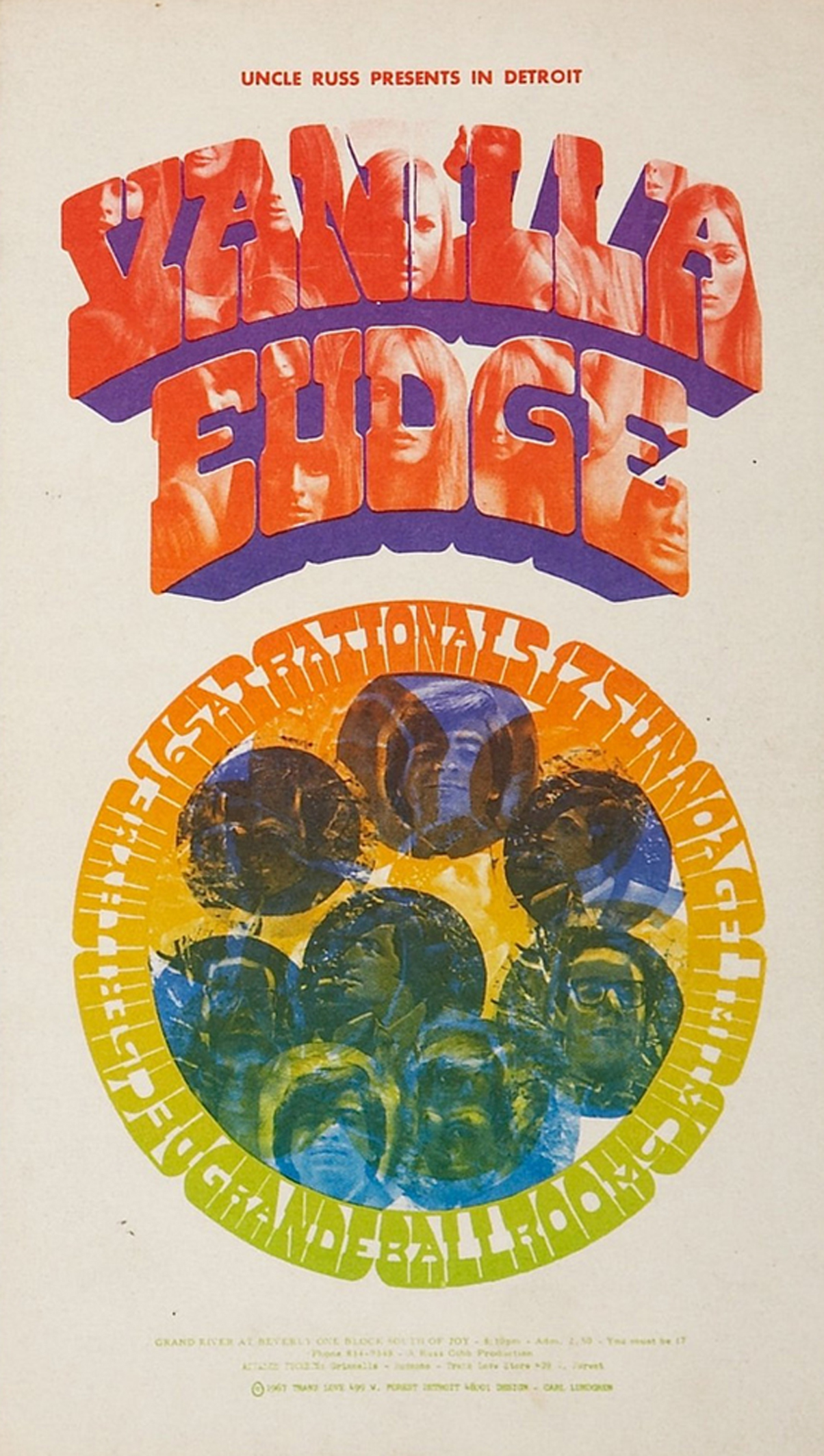 Vanilla Fudge, Grande Ballroom (December 1967)