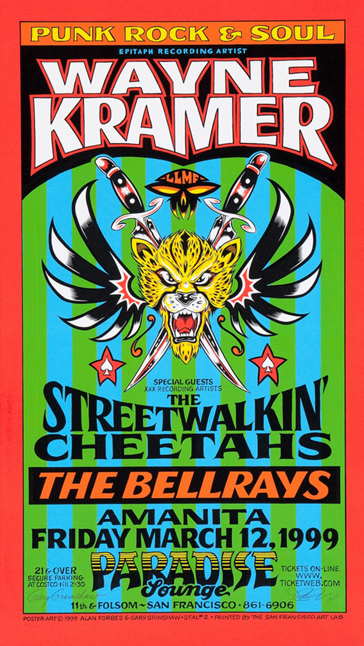 Wayne Kramer and the Streetwalkin' Cheetahs 1999