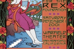 2001 show at the Warfield Theater Micky Hart, Bill Kreutzmann and Bob Weir